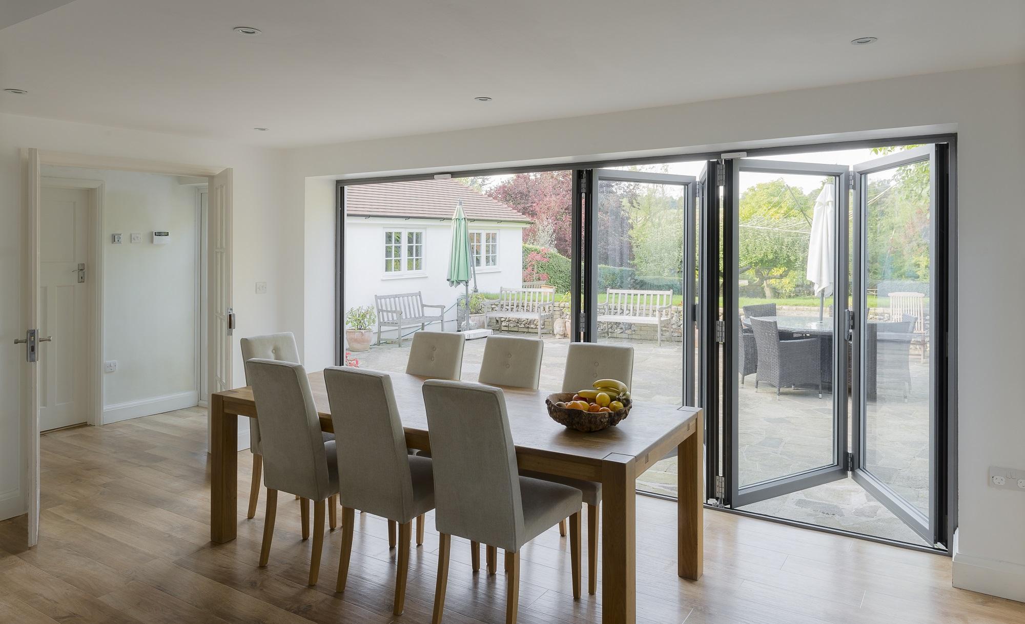 Bifold or sliding patio doors for Glass folding patio doors
